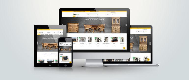 webshop via nova mediendesign. Black Bedroom Furniture Sets. Home Design Ideas